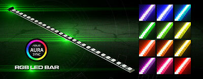 Nanoxia Rigid RGB LED 30cm, ASUS AURA Sync Certified, 27 Ultra-Bright LED's