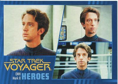 Star Trek Voyager Heroes And Villains Parallel Base Card #33 EMH Mark II