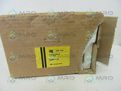 Rs Components 348-318 Reflex Photo Relay System *new In Box*