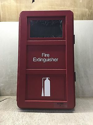 Allegro Industries Fire Extinguisher Wall Case, New- Old Stock