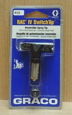 Graco 221415 RAC IV SwitchTip Reversible Airless Spray Tip, 415