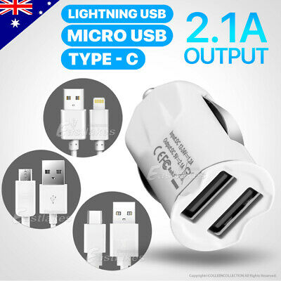 Dual Usb Car Charger For IPhone 6 7 Plus IPAD Samsung S4 S5 S6 S7 S8 HTC LG
