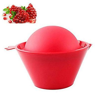 Red Silicone Pomegranate Deseeder Seed Removal Tool No Mess Peeler Home Gift LG