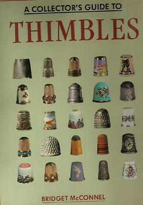 ANTIQUE / VINTAGE THIMBLES COLLECTORS GUIDE, HISTORY Printed Czechoslovakia HBdj