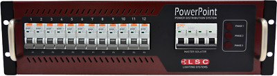 LSC PowerPoint 32Amp 12 x 10A Distro