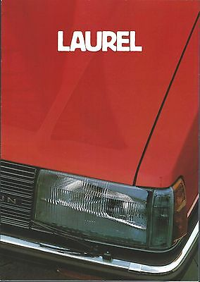 Auto Brochure - Nissan Datsun - Laurel - c1982 GERMAN language Prospekt (A1184)