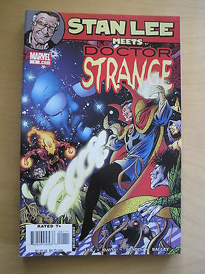 STAN LEE meets DOCTOR STRANGE by LEE, BENDIS etc. FANTASTIC ONE-SHOT.MARVEL.2006