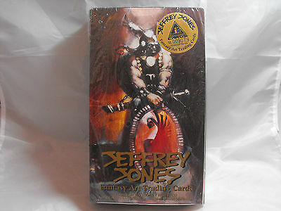 Jeffrey Jones Fantasy Art Trading Cards Sealed Box Of 36 Packs