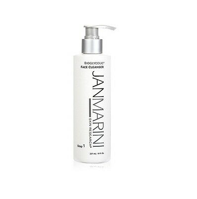 Jan Marini Bioglycolic 8 ounce Face Cleanser Suitable for All Skin Types New