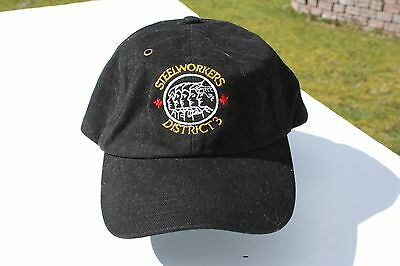 Ball Cap Hat - Steelworkers - District 3 - Trade Union BC Alberta (H1738)