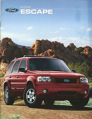 Auto Brochure - Ford - Escape - 2006  (A1195)