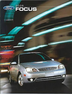 Auto Brochure - Ford - Focus - 2006 (A1198)