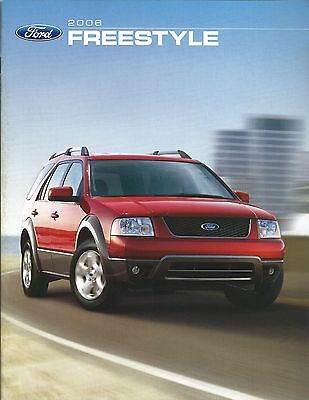 Auto Brochure - Ford - Freestyle - 2006 (A1199)