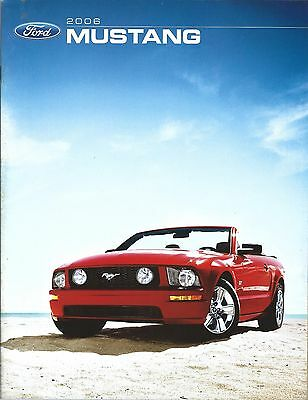 Auto Brochure - Ford - Mustang - 2006 - Code 06MSTCAT (A1202)
