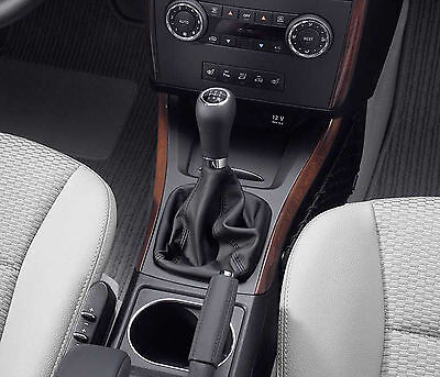 Leather Gear Shift Gaiter Cover Sleeve fit Mercedes Class  A W169 2004 ->