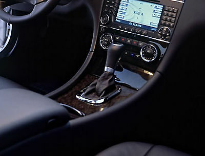 Leather Gear Shift Gaiter Cover Sleeve fit Mercedes Class C W203 2000-2004