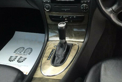 Leather Gear Shift Gaiter Cover Sleeve fit Mercedes Class E W211 2002-2009