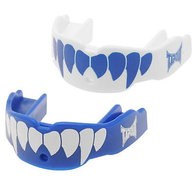 Tapout Gum Shield Mouthguard Boxing Rugby Blue  (2 Pack) New Youth Fang Style