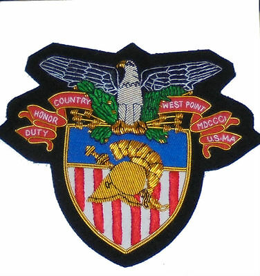 West Point Academy Knights US Army Battle War Uniform Blazer Jacket Eagle Patch