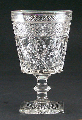 Imperial Cape Cod Water 5 1/4 Water Goblet wafer stem