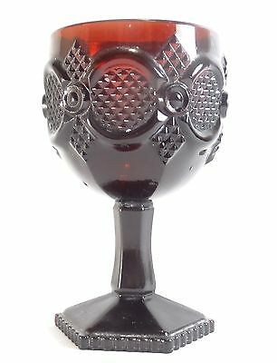 Avon Cape Cod Royal Ruby 6 inch Water Goblet