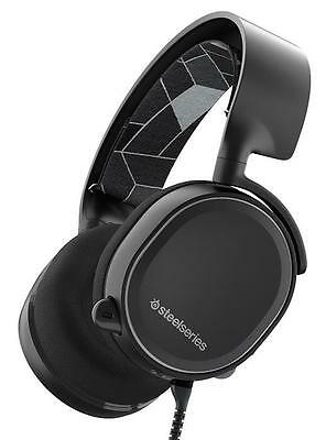 SteelSeries Arctis 3 All-Platform Black Gaming Headset 61433