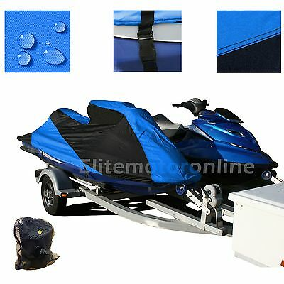 Yamaha WaveRunner XLT1200 XL800 XLT800 Custom Fit Trailerable JetSki PWC Cover