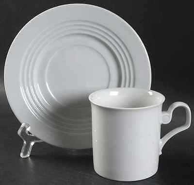 Block ODYSSEY WHITE Cup & Saucer 35490