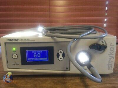 Stryker X8000 Endoscopy Endoscope Light Source 220-200-000