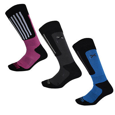 XTM Sochi Merino Adult Snow Ski Winter Socks - Ass Colors Sizes 2 - 14