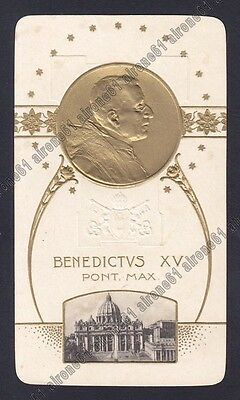 Papa Benedetto Xv - 11 Pope Papst - Santino Immaginetta Holy Card Image Pieuse