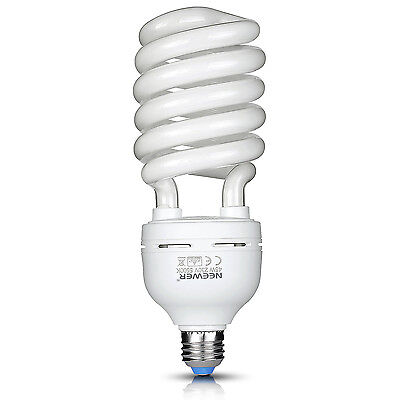 Neewer 45W 220V 5500K Ampoule Equilibré Tri-phosphore Spirale CFL Daylight