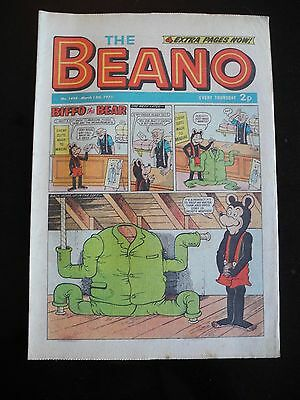 The Beano, No. 1495 - March 13th 1971, VG/F