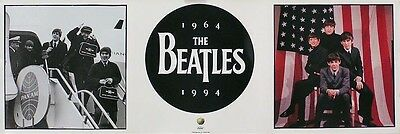 The Beatles 1994 First US Visit Anniversary Poster
