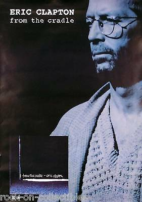 Eric Clapton 1994 From The Cradle Original Promo Poster