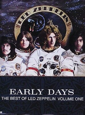 Led Zeppelin 1999 The Best Of Early Days Original Promo Poster