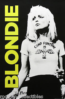 Blondie Debbie Harry 2014 Camp Funtime Poster
