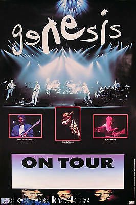 Genesis 1992 Rare Unused Tour Promo Poster