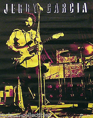 Grateful Dead Jerry Garcia Winterland Productions Original Poster