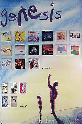 Genesis 1991 We Can't Dance Original Promo Poster