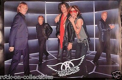 Aerosmith 2001 Just Push Play Original Promo Poster
