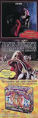 Janis Joplin 1999 Complete Collection Promo Poster Original