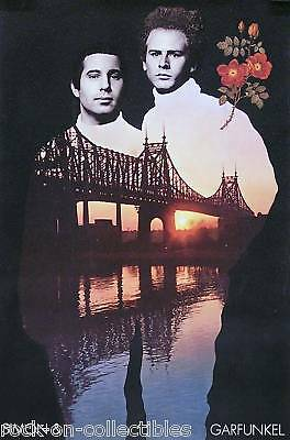 "Simon & Garfunkel 2001 ""bridge"" Reprint Poster Original"