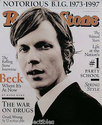 Beck 1997 Rolling Stone Cover Poster