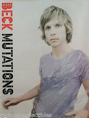 Beck 1998 Mutations Silver Promo Poster