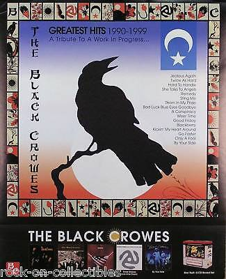 Black Crowes 2000 Greatest Hits 2-Sided Promo Poster