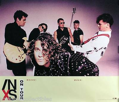Inxs 1990 Inxs On Tour Promo Poster Original