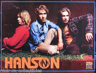 Hanson 2000 This Time Around Tower Records Promo Poster