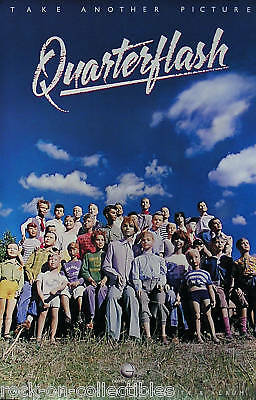 Quarterflash 1983 Take Another Picture Promo Poster