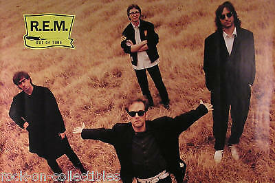R.e.m. 1991 Out Of Time Original Promo Poster